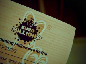 ticket de l'euromillion