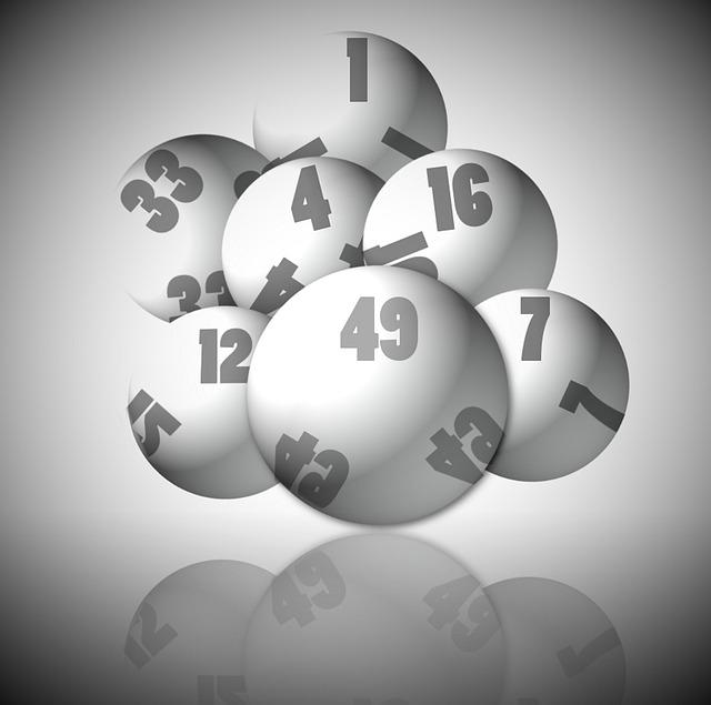 Balles de loterie.