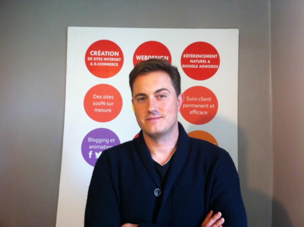 Charley Faivre, joueur et prestataire pour SuperChance100