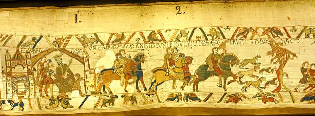 Tapisserie médiévale.