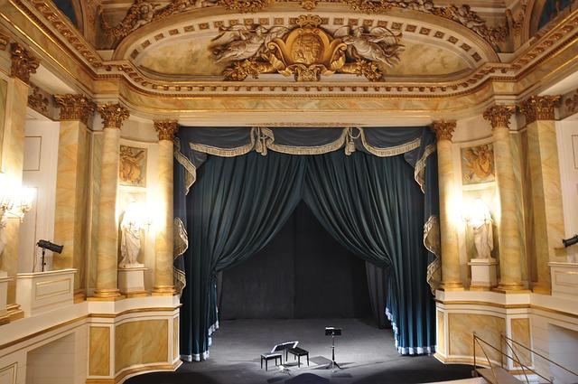 Salle de théâtre.