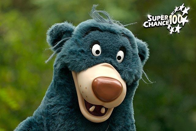 Photographie du personnage de Disney Baloo.