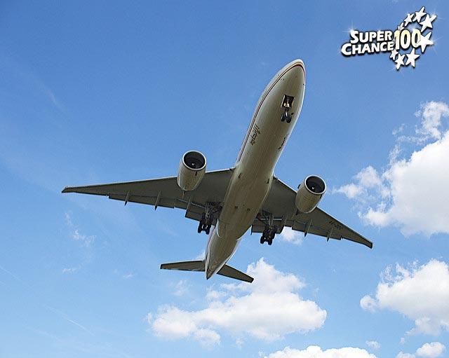 Photographie d'un boeing 777.