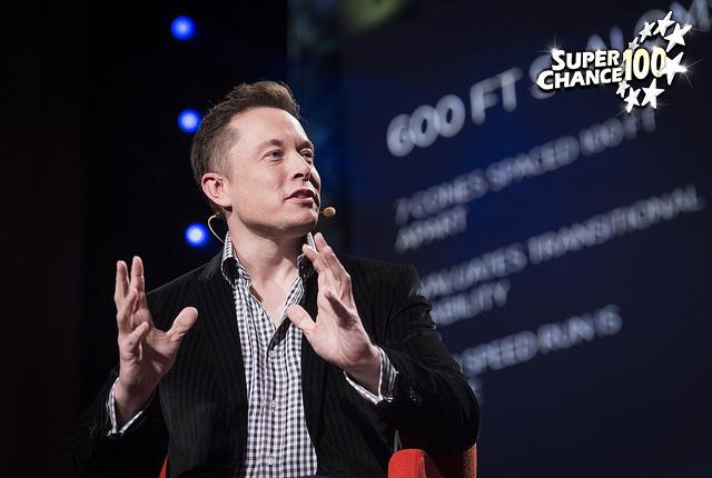 Photographie du fondateur de SpaceX Elon Musk.