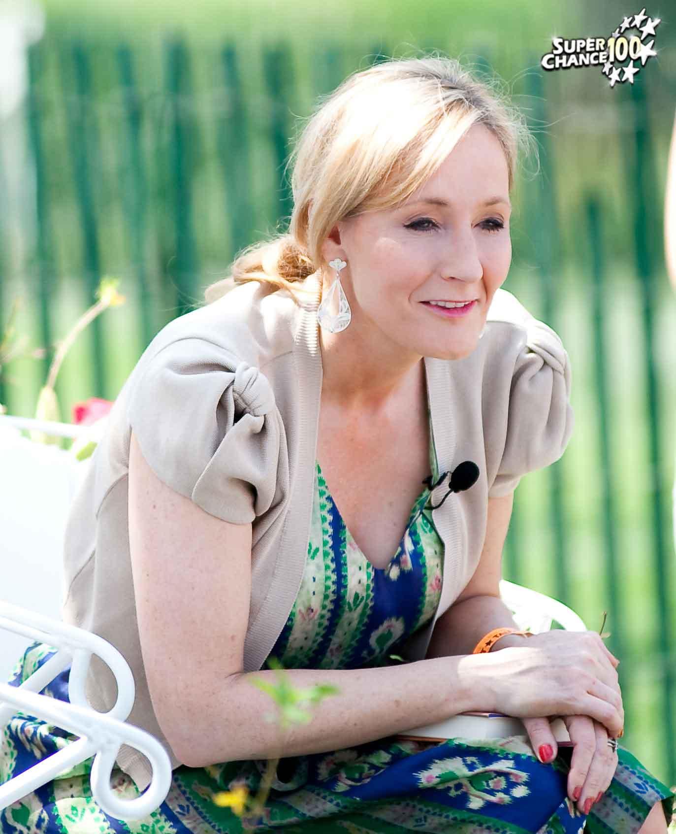 Joanne Rowling, alias J.K. Rowling, auteure de la saga Harry Potter.
