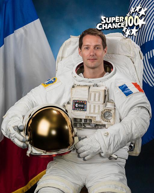 Portrait officiel de la 50e expédition de l'agence spatiale européenne.