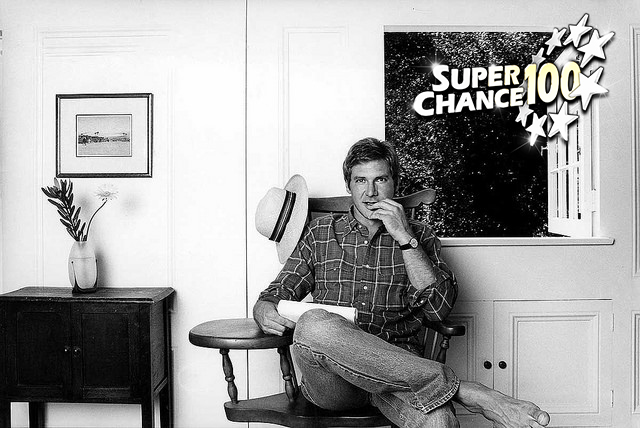 Portrait d'Harrison Ford.