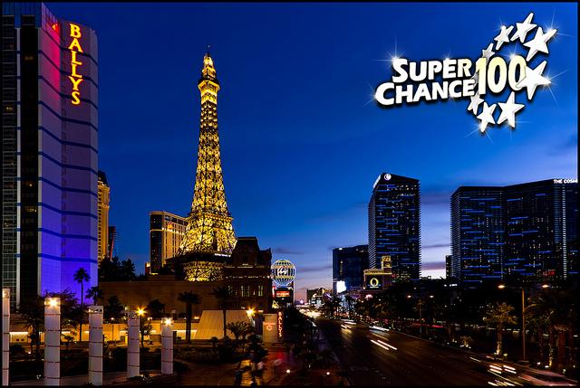 Photographie de la ville de Las Vegas.