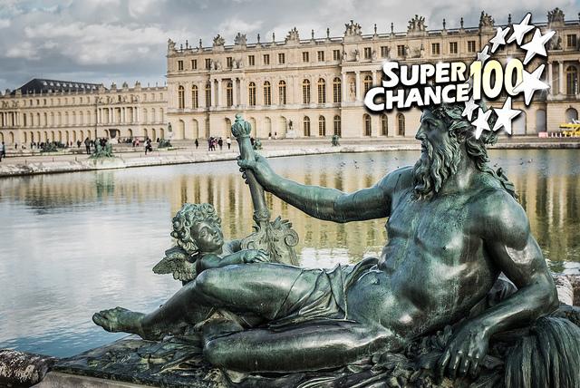 Photographie du château de Versailles.