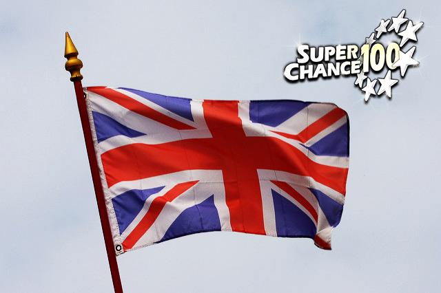 Photographie du drapeau anglais.
