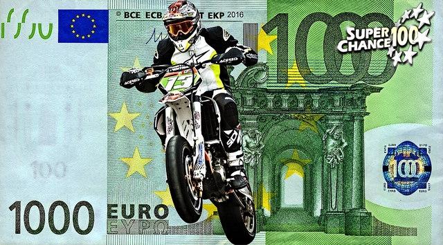 Billet de 1000 euros
