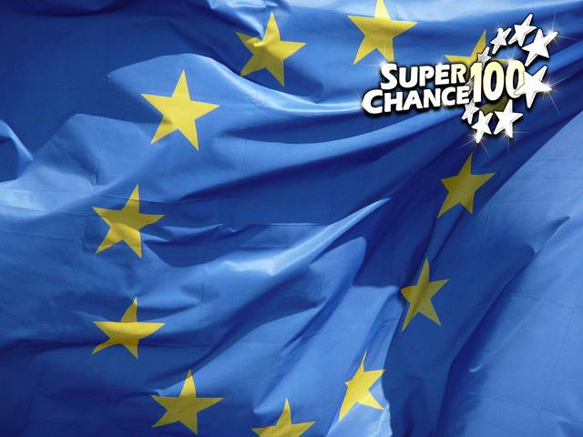 Drapeau de l'Europe.