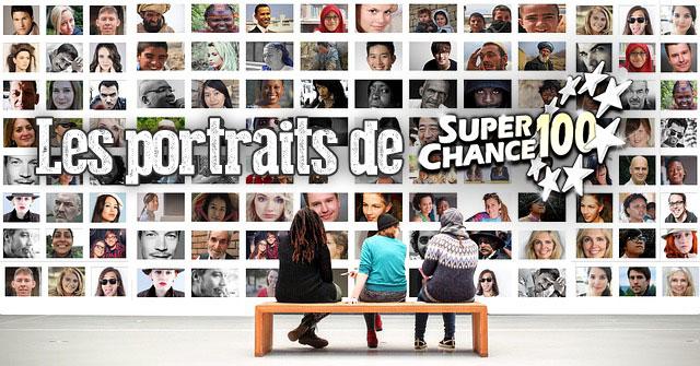 Les portraits de SuperChance100.