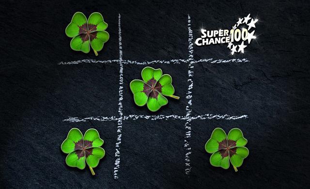 Trèfles à quatre feuilles.