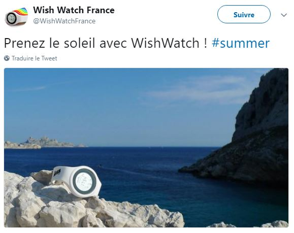 la whish watch aub bord de la mer