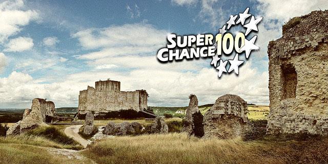 Château en ruine pour la loterie du patrimoine.