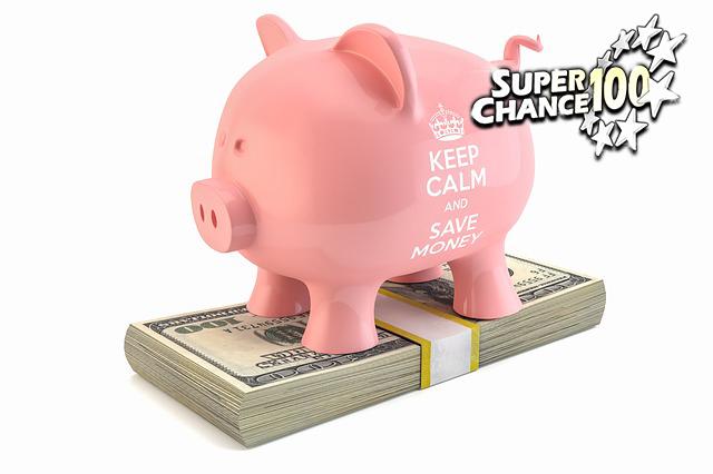 Tirelire en forme de cochon pour symboliser les profits des petits gains cumulés à l'EuroMillions.