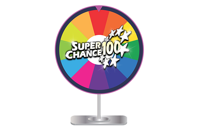 Roue de la fortune de SuperChance100.