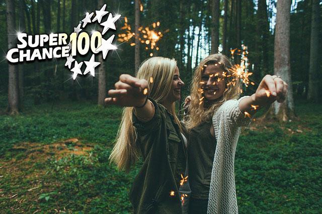 Deux femmes célèbrent leur victoire à l'Euro Millions avec des bougies étincelantes.