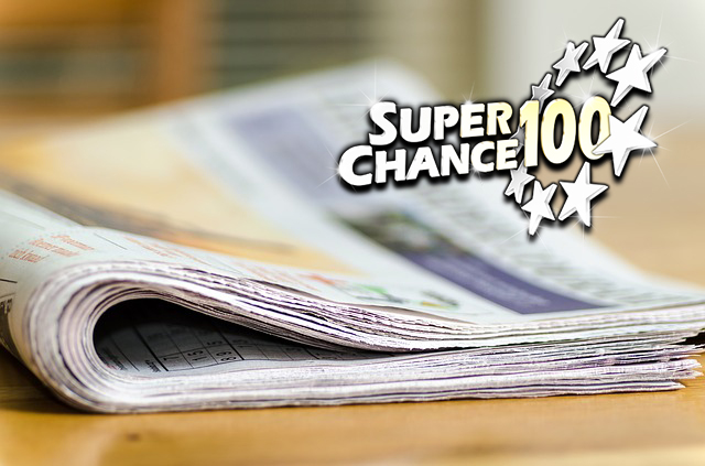 Photographie du journal avec le résumé des résultats EuroMillions de novembre.