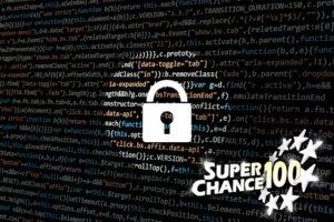 Cadenas de sécurité sur le site de SuperChance100.