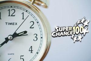 Horloge qui indique le temps qui passe jusqu'au prochain tirage de l'Euro Millions.