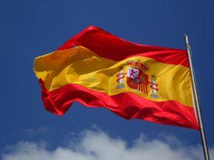 C'est le drapeau espagnole