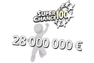 Gagnez à l'EuroMillions 28 millions d'euros.